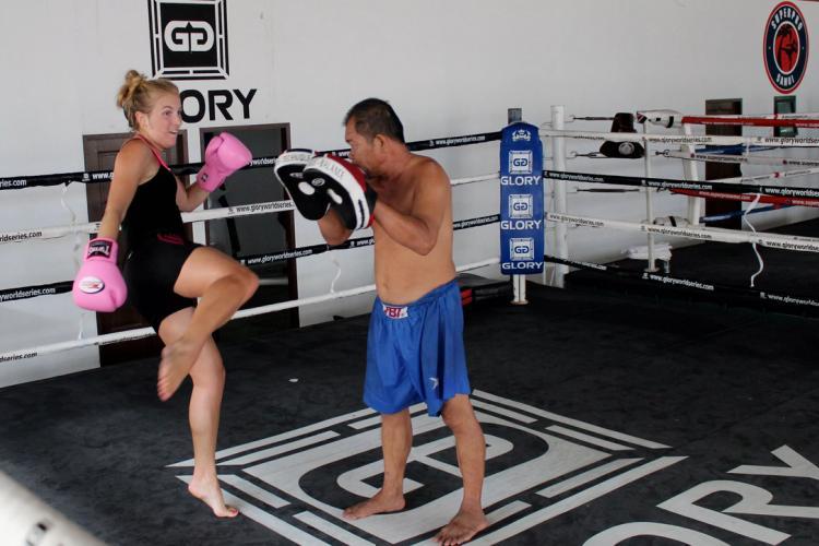 Suwitmuaythai of Muay Thai for fitness in Thailand using Online Marketing